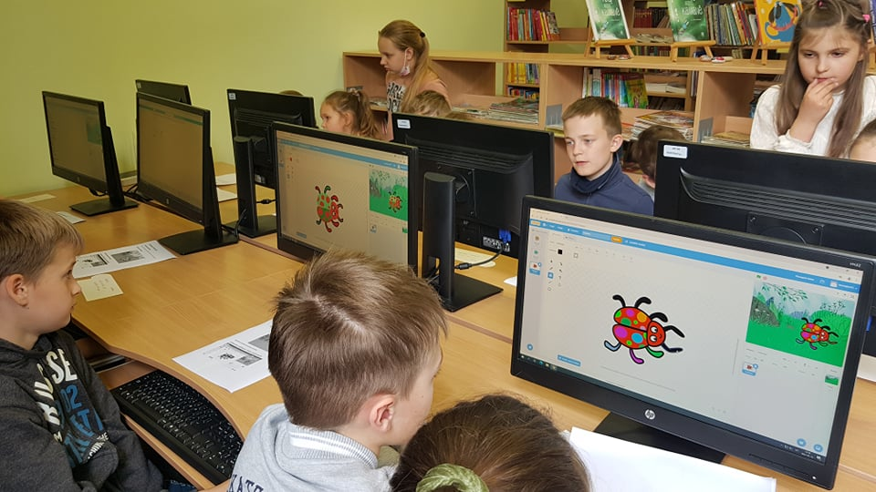 Dailės ir technologijų pamoka programuojant Scratch platformoje